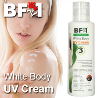 White Body UV Cream - 200ml - Click Image to Close